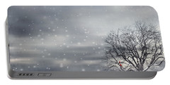 Winter Portable Battery Charger by Lourry Legarde