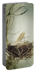 Portable Battery Charger featuring the photograph Winter Lullaby by Amy Weiss