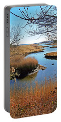 Winter Marsh Portable Battery Charger
