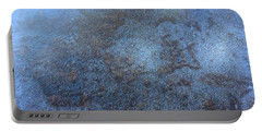 Portable Battery Charger featuring the painting Winter Mist by Fred Wilson