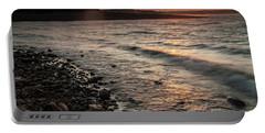 Winter Morning At The Vetran's Lake Portable Battery Charger