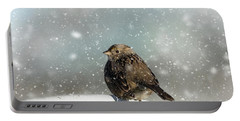 Winter Morning Portable Battery Charger