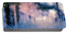 Winter Morning Light Portable Battery Charger
