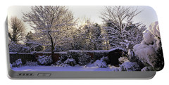 Portable Battery Charger featuring the photograph Winter Morning by Tony Murtagh