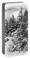Winter Night Forest M Portable Battery Charger