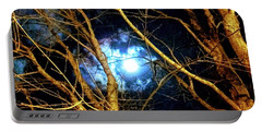Winter Night Sky Portable Battery Charger