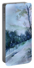 Winter Paradise Portable Battery Charger by Robin Miller-Bookhout