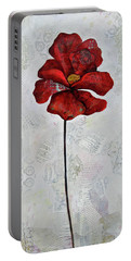 Winter Poppy I Portable Battery Charger