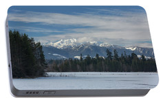 Portable Battery Charger featuring the photograph Winter by Randy Hall