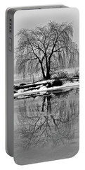 Winter Reflections Portable Battery Charger