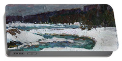 Winter River Portable Battery Charger