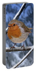 Winter Robin Portable Battery Charger