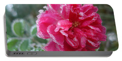 Winter Rose Portable Battery Charger