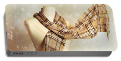 Winter Scarf Portable Battery Charger