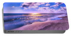 Winter Solstice Sunrise Portable Battery Charger