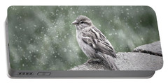 Winter Sparrow Portable Battery Charger