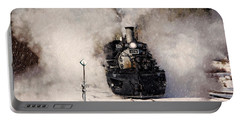 Winter Steam At Rockwood Colorado Portable Battery Charger