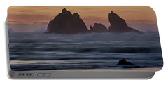 Portable Battery Charger featuring the photograph Winter Storm - 365-248 by Inge Riis McDonald