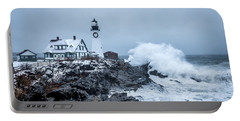 Winter Storm, Portland Headlight Portable Battery Charger