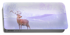 Winter Story Portable Battery Charger by Iryna Goodall