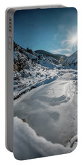 Winter Sun Portable Battery Charger