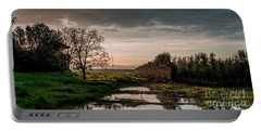 Portable Battery Charger featuring the photograph Winter Sunrise by Arik Baltinester