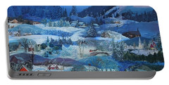 Winter Sunrise Portable Battery Charger