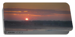 Winter Sunrise - Kennebunk Portable Battery Charger