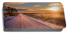Winter Sunrise Light Portable Battery Charger