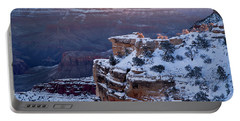 Winter Sunrise - Mather Point Grand Canyon Portable Battery Charger