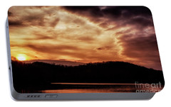 Portable Battery Charger featuring the photograph Winter Sunset by Thomas R Fletcher