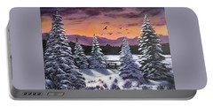Winter Time Again Portable Battery Charger