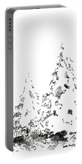 Winter Trees 1 - 2016 Portable Battery Charger