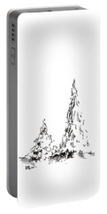 Winter Trees 2 - 2016 Portable Battery Charger