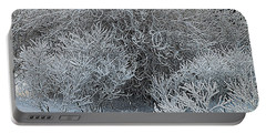 Winter Trees Portable Battery Charger by Vladimir Kholostykh
