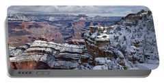 Winter Vista - Grand Canyon Portable Battery Charger