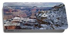 Winter Vista - Grand Canyon Portable Battery Charger