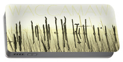 Winter Waccamaw Mist Portable Battery Charger by Deborah Smith