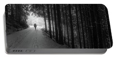 Winter Walk - Austria Portable Battery Charger by Mountain Dreams