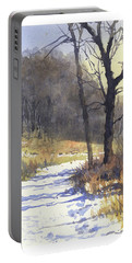 Winter Walk Portable Battery Charger