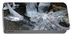 Winter Water Flow 4 Portable Battery Charger