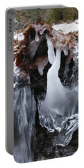 Winter Water Flow 5 Portable Battery Charger