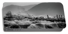 Winter Waves Portable Battery Charger