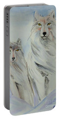 Winter Wolves Portable Battery Charger