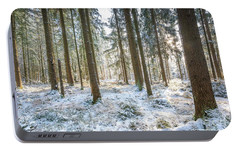 Portable Battery Charger featuring the photograph Winter Wonderland by Hannes Cmarits