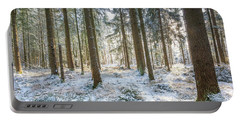 Winter Wonderland Portable Battery Charger by Hannes Cmarits