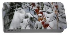 Winter Wonderland Portable Battery Charger