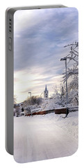 Winter Wonderland Redux Portable Battery Charger by Marius Sipa