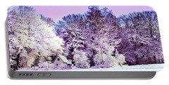 Winter Portable Battery Charger by Zedi