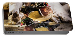 Wintering Wood Ducks Portable Battery Charger
